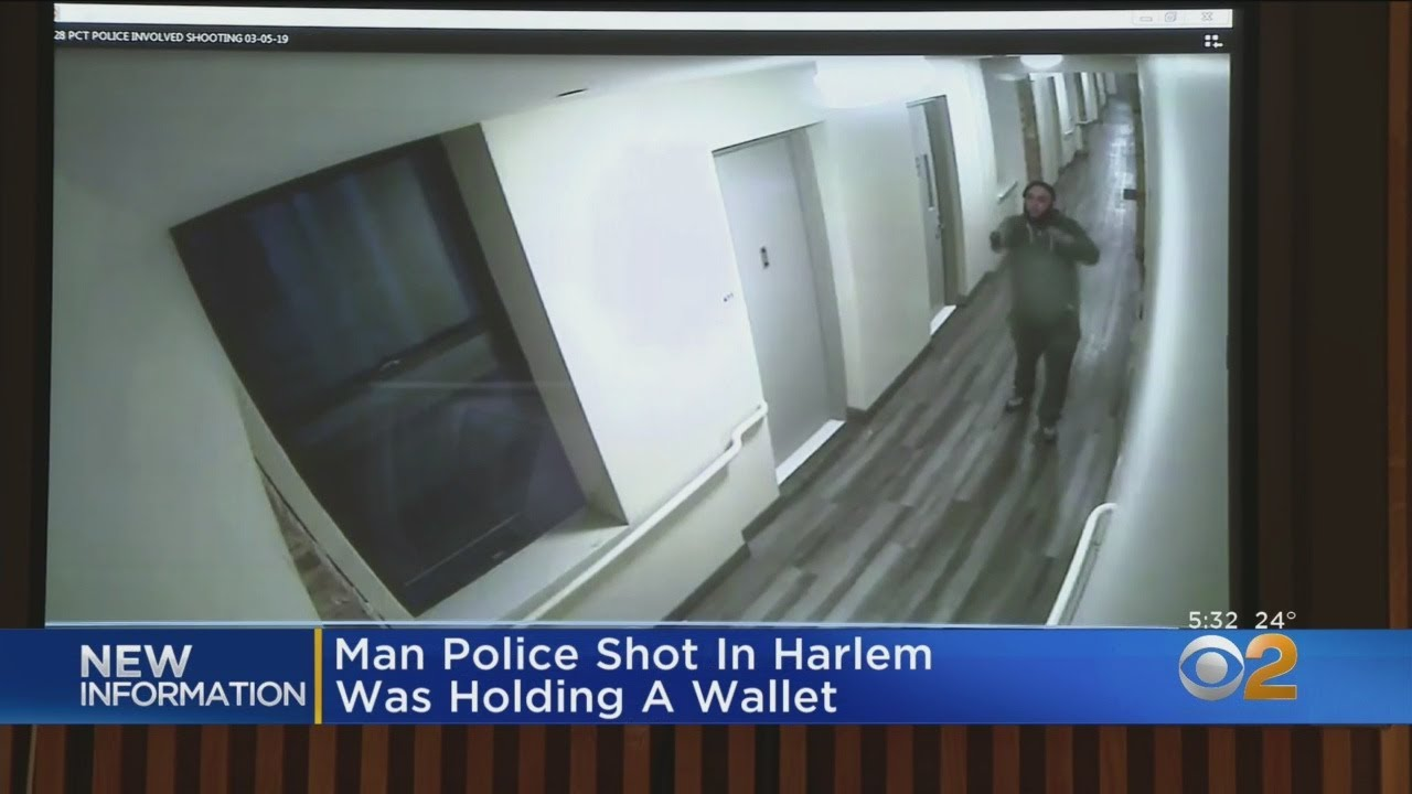 NYPD: Man Officers Shot In Harlem Was Pointing Wallet At Them