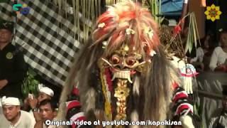 Tarian mistis Rangda Bali