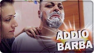 ADDIO BARBA !!!