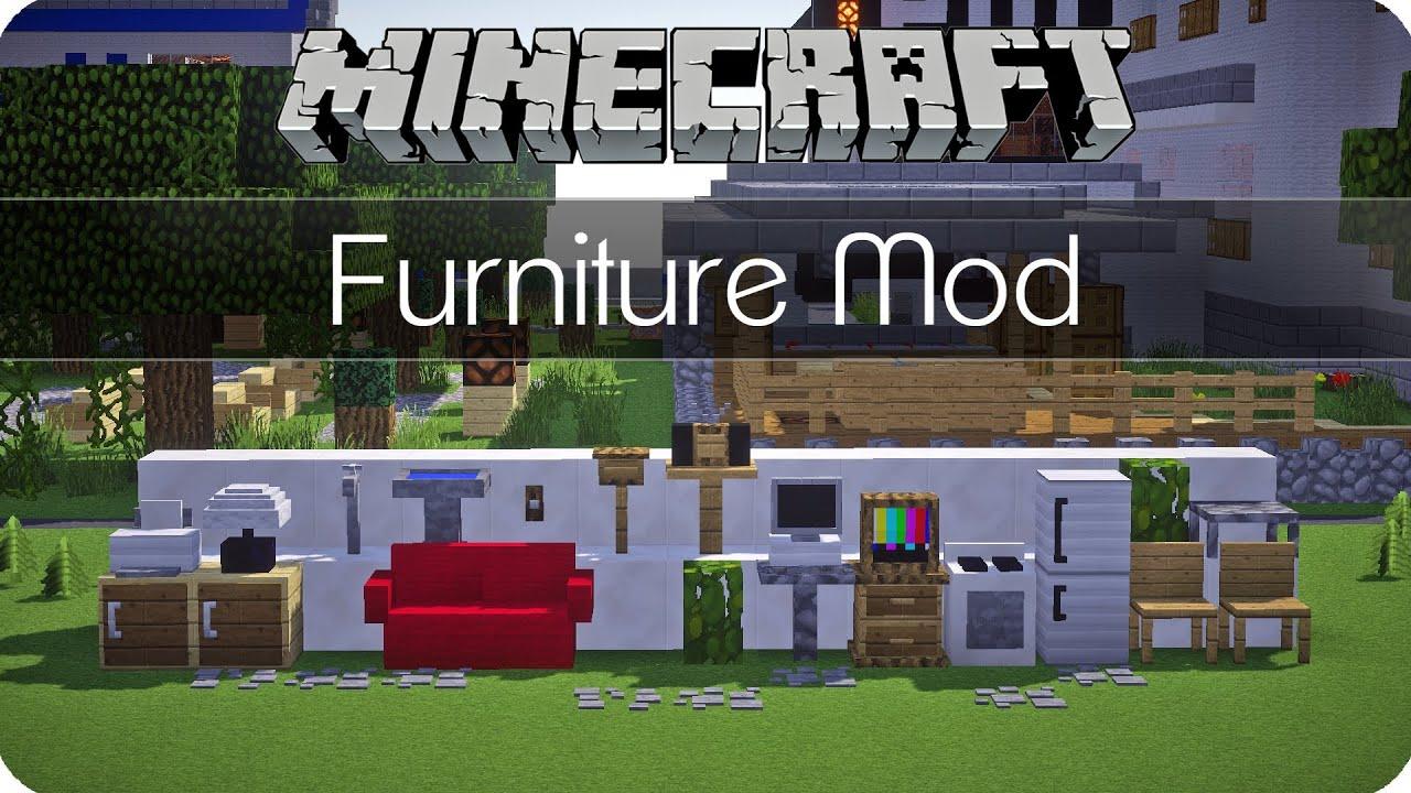 M 246 Bel Und Mehr Jammy 180 S Furniture Mod Minecraft Mod Review De Hd Youtube