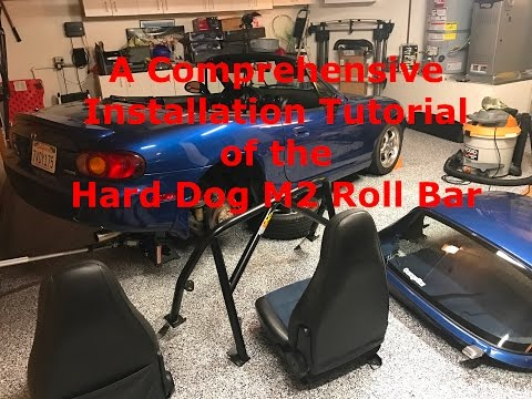 The Most Comprehensive Roll Bar Installation Video - Hard Dog M2 Part 1/2