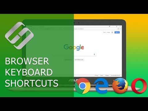 Hotkeys In Such Browsers As Google Chrome, Mozilla Firefox, Opera, Microsoft Edge ⌨️🌐⚙️