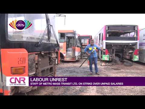 Metro Mass staff in Accra strike over unpaid salaries