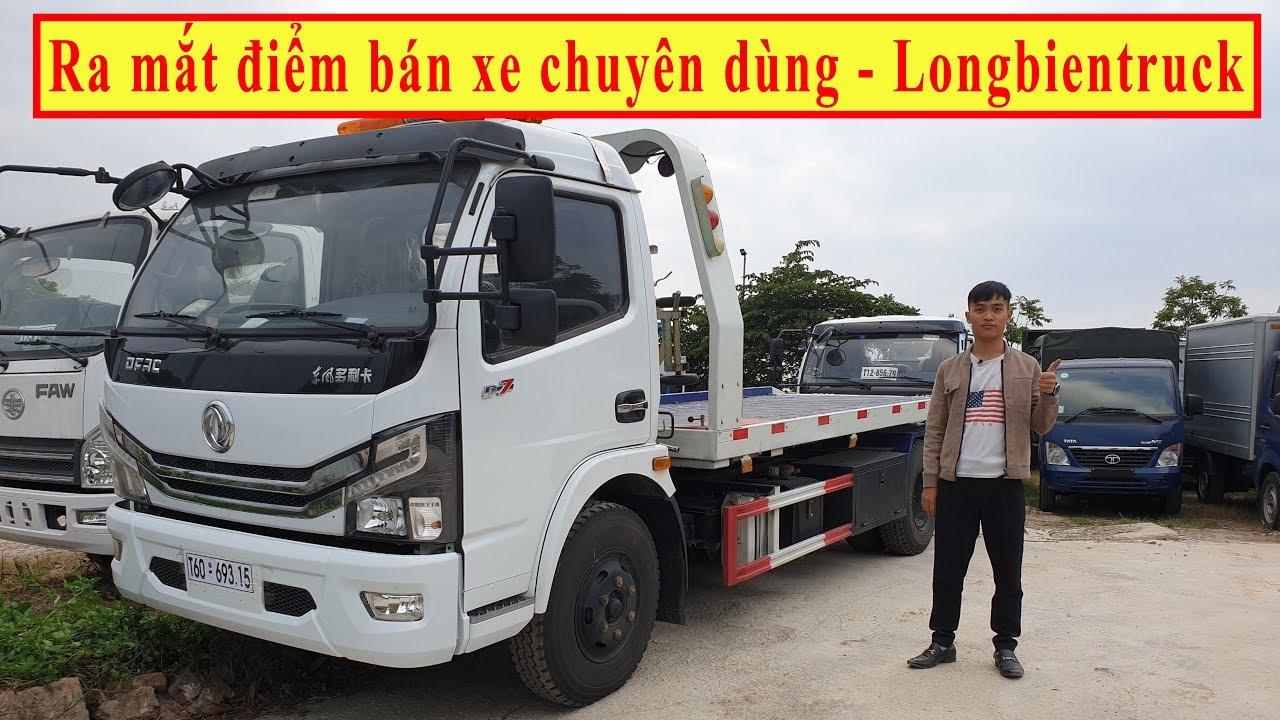 Ra mắt điểm bán Xe chuyên dùng mới của Longbientruck