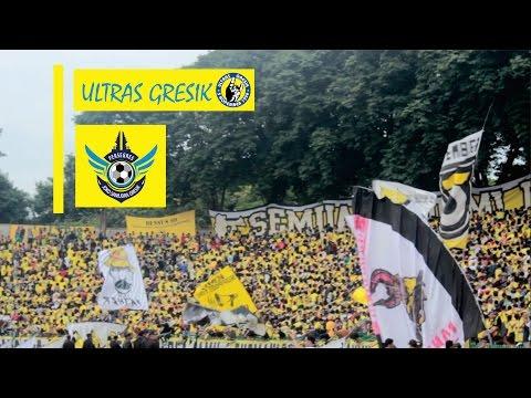 Respect!! Chants dan kekompakan ULTRAS GRESIK |21 April 2017|