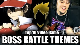 Top 10 Video Game Boss Battle Themes - Guitar Medley (FamilyJules)