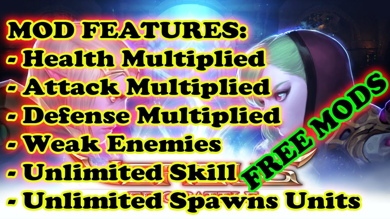 Download VERSUS: Epic Battle MOD MENU | Health | Attack | Defense | Weak Enemies | ETC |