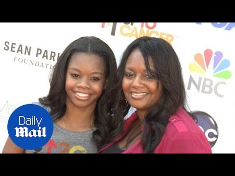 Olympic champion Gabby Douglas and her mom in 2012 - Daily Mail