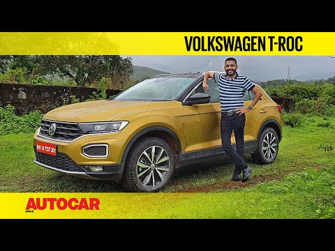 EXCLUSIVE: VW T-Roc India Review - Premium Compact Family Crossover   First Drive   Autocar India