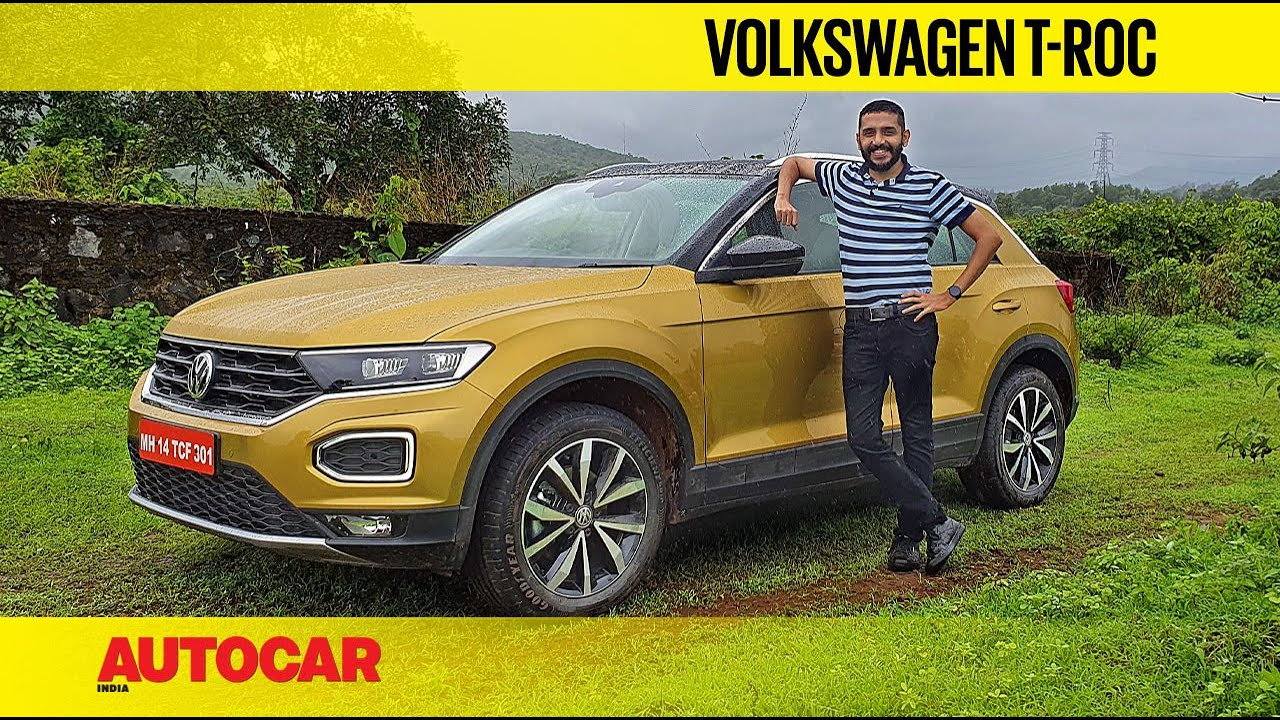 Download EXCLUSIVE: VW T-Roc India Review - Premium Compact Family Crossover | First Drive | Autocar India