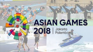 10 Cabang Olahraga Terbaru di Asian Games 2018