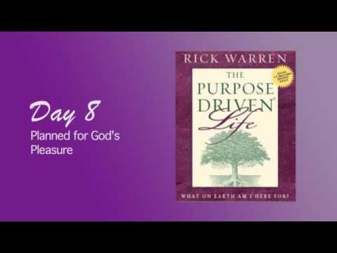 Purpose Driven Life Day 8