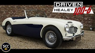 4K - AUSTIN HEALEY 100/6 BN4 with overdrive - Test drive in top gear with engine sound - SCC TV