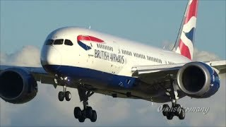 22 Boeing 787 Dreamliner Landings in 14 Liveries Compilation HD