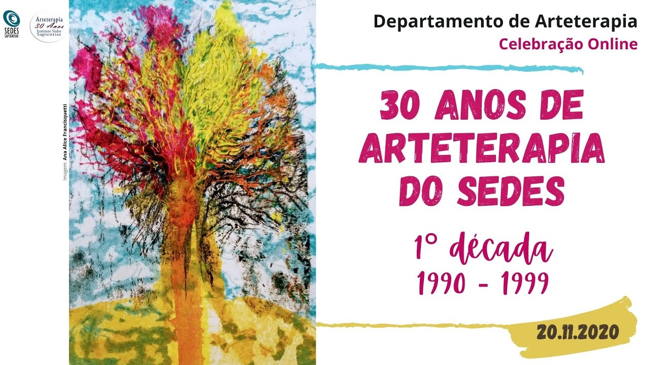 Vídeo 1°década - 30 anos da Arteterapia do Sedes