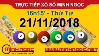 Xổ số Minh Ngọc™ Thứ Tư 21/11/2018 - Kênh chính thức từ Minhngoc.net.vn