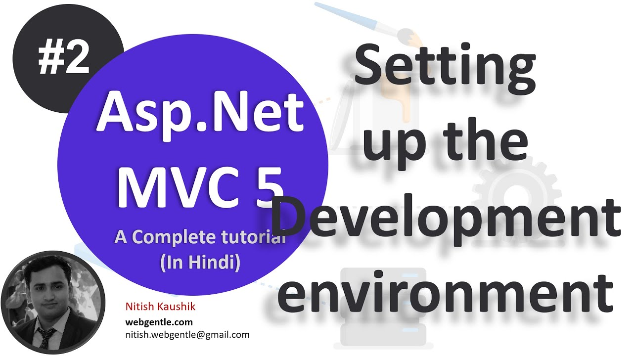 2) setting up environment | mvc tutorial for beginners in  c#