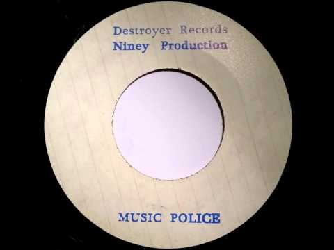 Niney & The Destroyers Music Police - Destroyer Records - Studio One - Jackie Mittoo