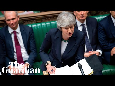 Theresa May takes questions in parliament - watch live