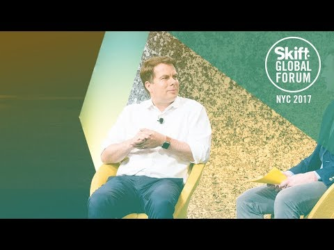 Lufthansa Group Chief Digital Officer Dr. Christian Langer at Skift Global Forum 2017