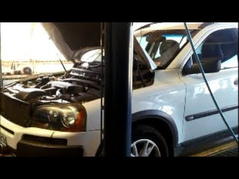 Volvo 4T65E XC90 Automatic Transmission Filter Service & Fluid Change