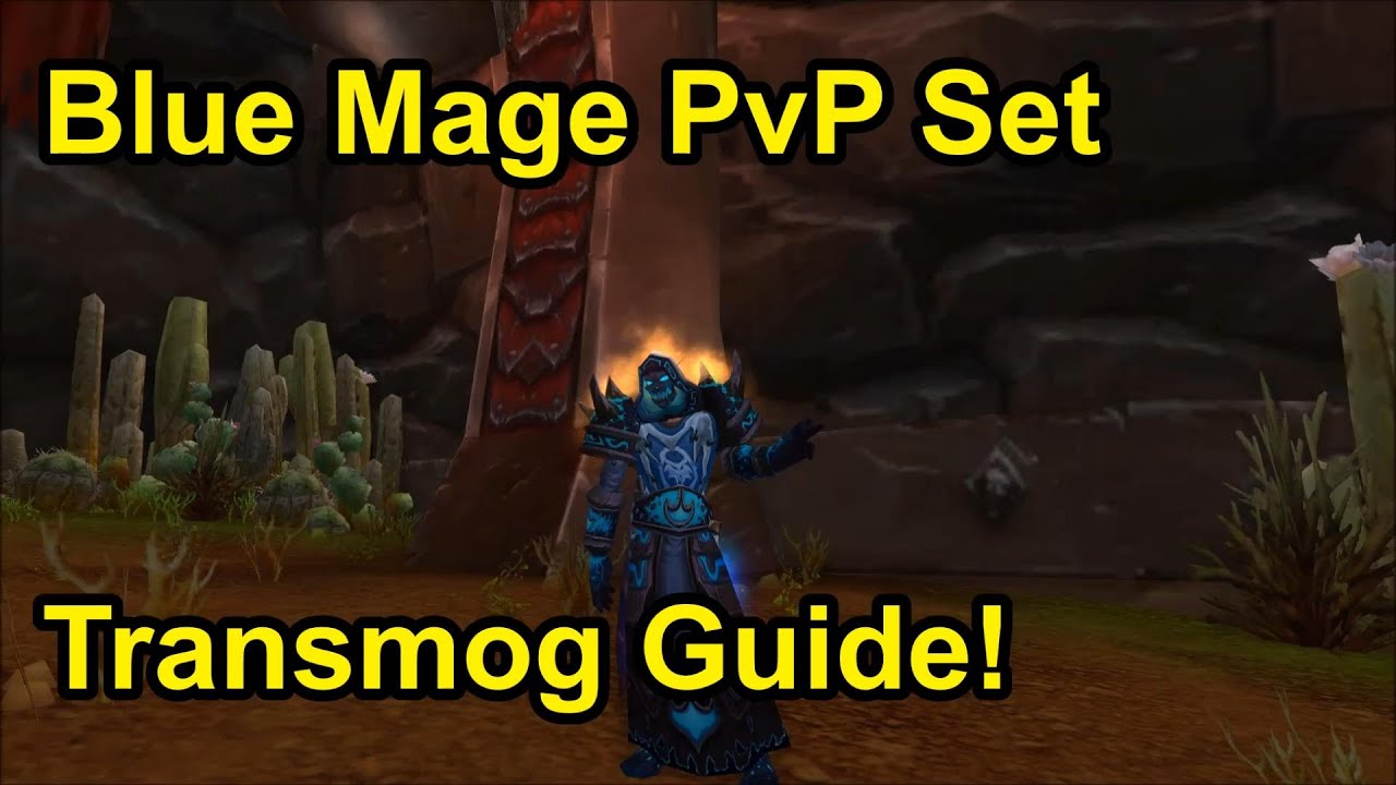 Wow patch 5 4 8 blue mage set transmog guide youtube for Wow portent 5 4