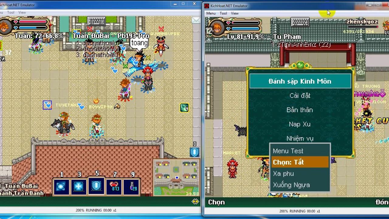 GAME-KPAH Cầm 2 Em Trùm Server Đi Chiếm Thành Server Hoa Lư Cùng Serever Kinh Môn Ngày 19/06/2020