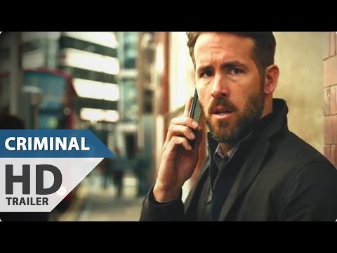 Criminal Trailer (2016) Ryan Reynolds, Gal Gadot Action Movie HD