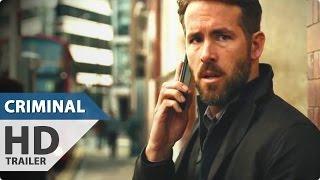 Criminal Trailer (2016) Ryan Reynolds, Gal Gadot Action Movie HD