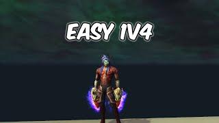 EASY 1v4 - Havoc Demon Hunter PvP - WoW BFA 8.2.5