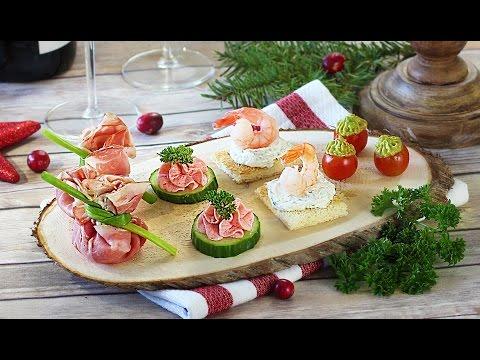 Сырный салат с креветками и