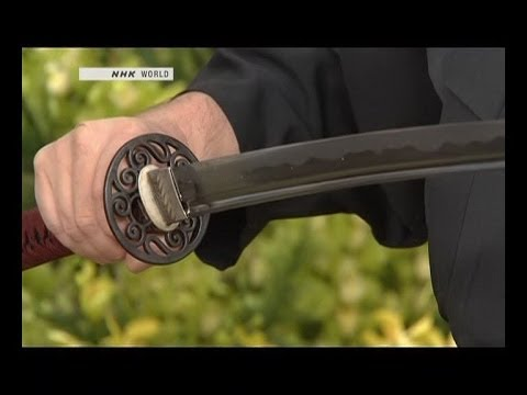 how its made - katana - Japanese sword كيفية صناعة السيف الياباني