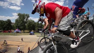 Chainless BMX & MTB Racing - Red Bull Pump Riders 2012 Czech Republic