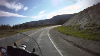 Motorcycle Ride Over the Bighorn Mountains