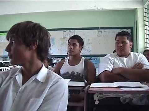Cook Islands Student