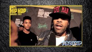 Redman Says Keith Murray Rap Battle Was Hilarious | BET Hip Hop Awards 2015