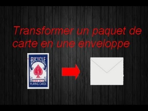 tour de magie carte signee explication