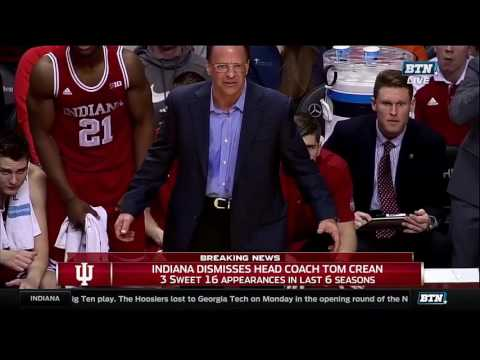 Fred Glass Announces Firing of Tom Crean - Press conference
