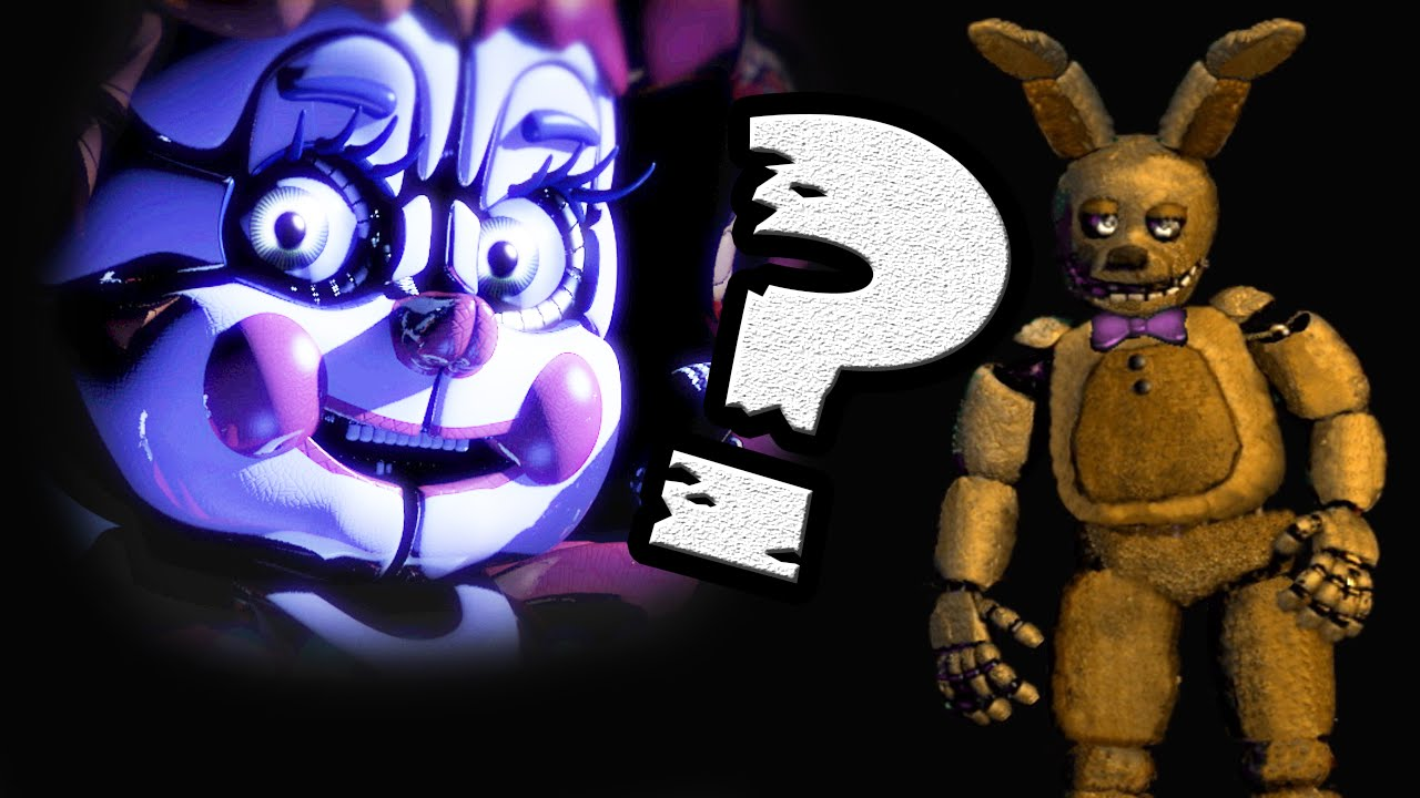 Spring Bonnie En El Teaser De Sister Location Regreso Springtrap
