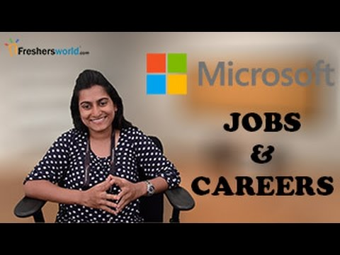 MICROSOFT– Recruitment Notifications, IT Jobs, Walkin, Career, Oppurtunities, Campus placements