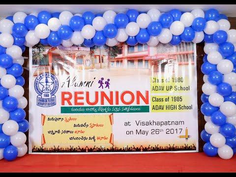 Reunion of ADAV High School - Class of 1985 Students