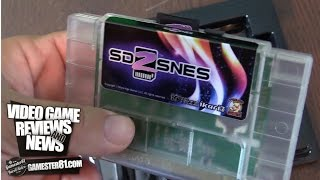 SD2SNES EverDrive flash cart for the Super Nintendo review - Gamester81