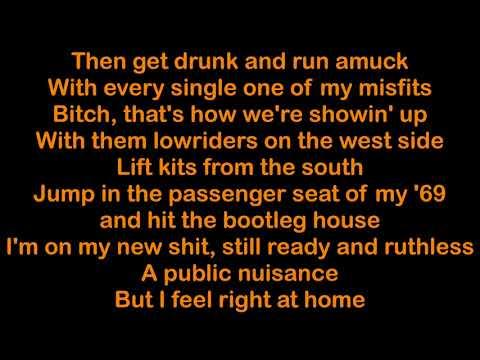 Yelawolf ft. Travis Barker & Juicy J - Punk [HQ & Lyrics]