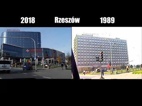 Rzeszów 1989 vs 2018 podróż w czasie
