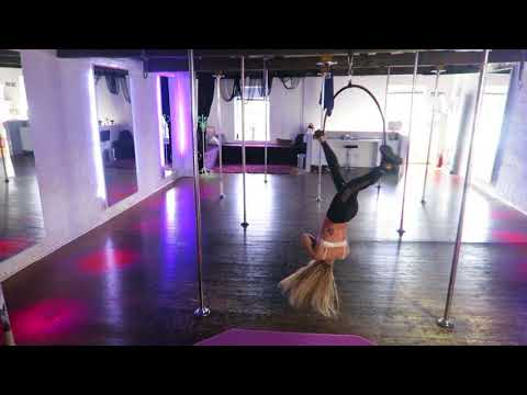 Aerial Hoop Routine  - Ashes From Deadpool 2