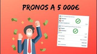 21/06/19 / Prono @1,58 / Mise 5000€. Comment gagner plus de 7900€ !