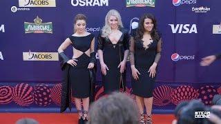 og3ne shined at the eurovision red carpet teamog3ne