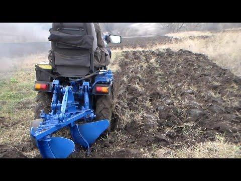 Мини трактор. Отчет за два года / Homemade Mini Tractor