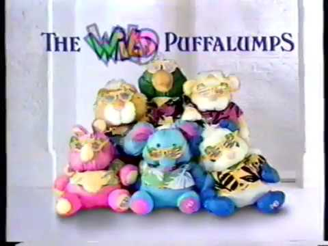 1987 Fisher Price Wild Puffalumps TV Commercial
