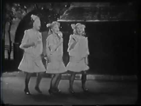 Patti Page, Lizabeth Scott, Gracie Fields, Lollipop, 1958 TV